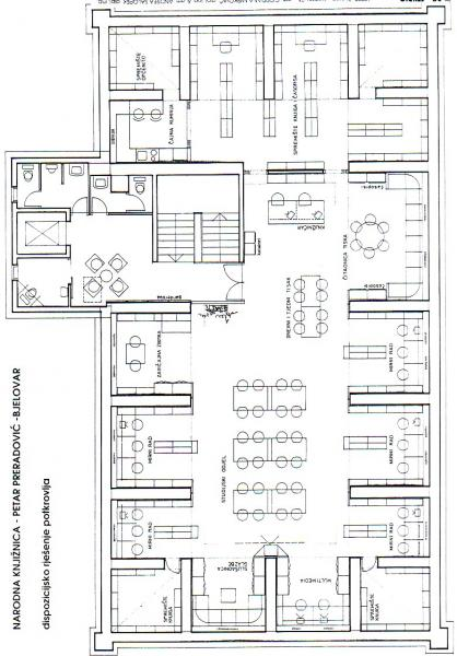 Browse motives librarybuildingsfo blueprint public library petar preradovi bjelovar malvernweather Choice Image